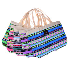 d72aa14ec246 1PC Hot Sale Large Striped Shopping Bag Local Fashion Girls Summer Shoulder  Shopper Tote Canvas Beach Bag