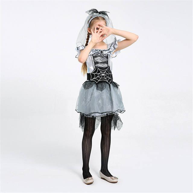 Girls Spider Fairy Princess Dress
