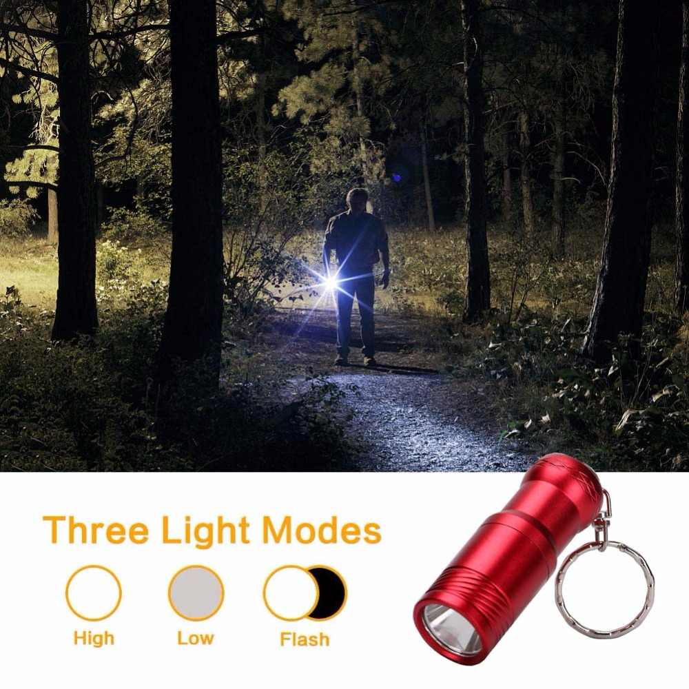 2000 LM Super Helle Mini Taschenlampe 5 Farben T6 LED 3-modus Tragbare LED Taschenlampe Lanternas Mini Keychain Taschenlampe taschenlampe