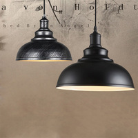 Industrial metal pendant lamp retro dinning room hang lamp pendant lamps for dining room light fixtures