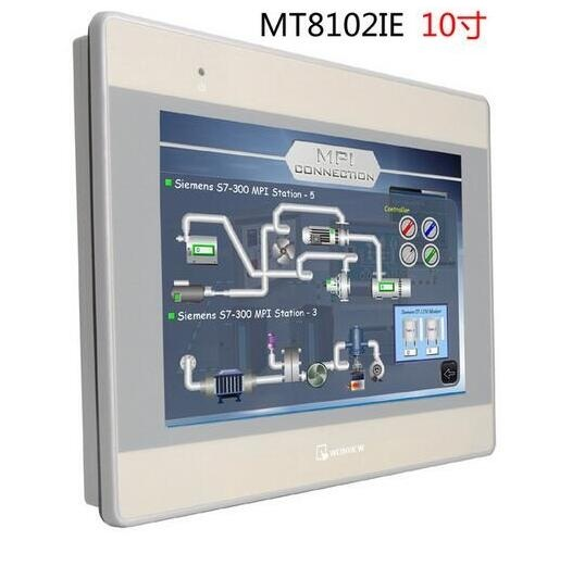 Weinview HMI 10 COLOR TFT MT8102IE COMPATIBLE WITH ALLEN BRADLEY PLC S Support Ethernet Can replace