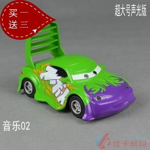 Ultralarge alloy toy car acoustooptical WARRIOR