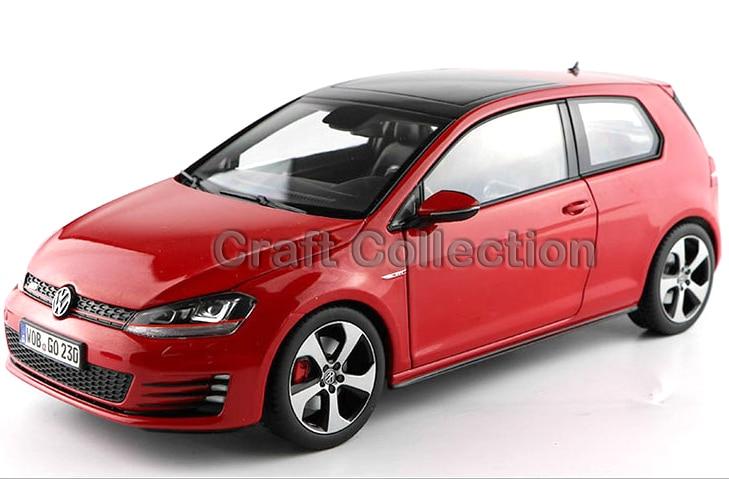 Red 1 18 Volkswagen Golf 7 GTI MK7 2015 Hatchback Alloy Model font b Diecast b