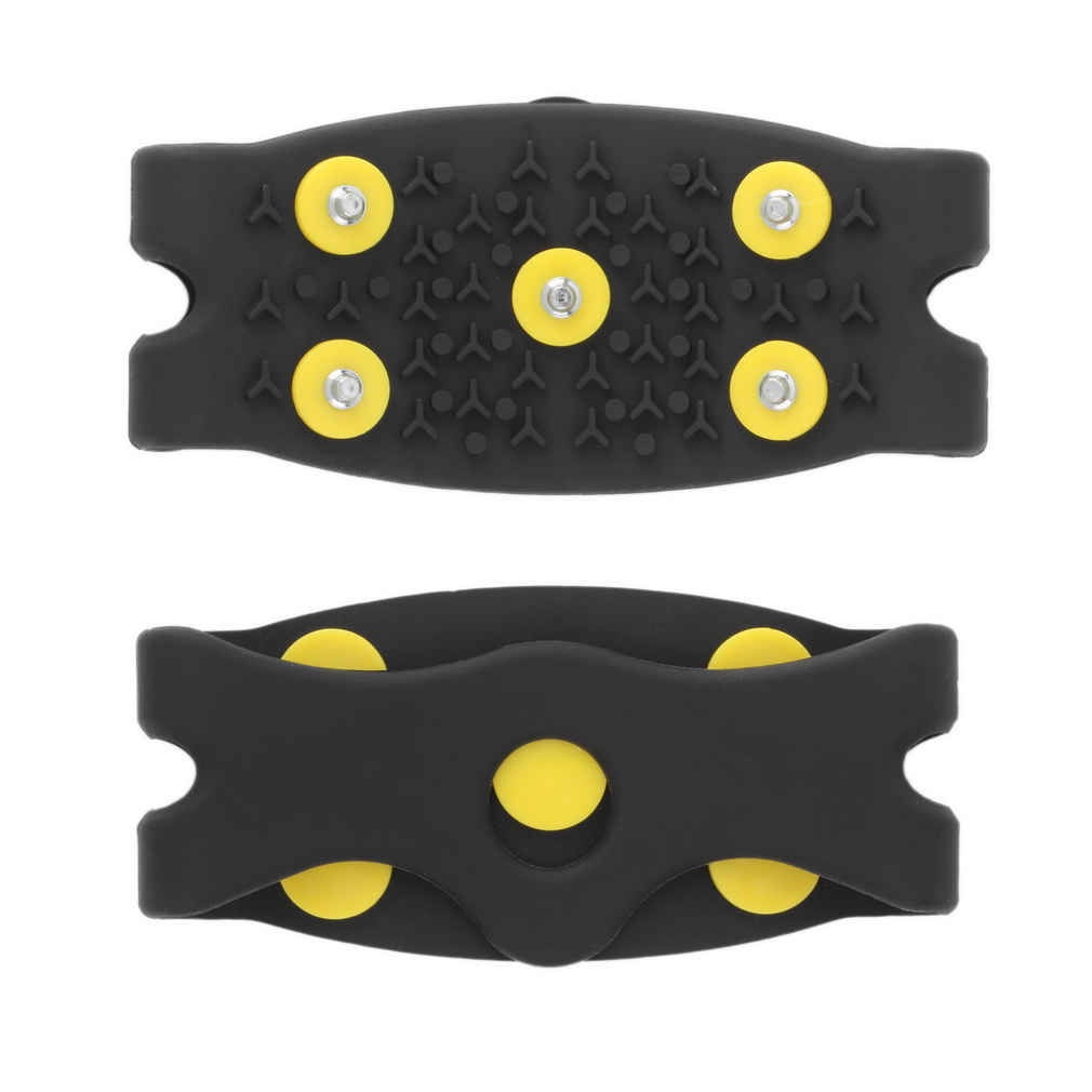 New Arrival Anti Slip Snow Ice Climbing Spikes Grips Crampon Cleats 5-Stud Shoes Cover Drop Shipping