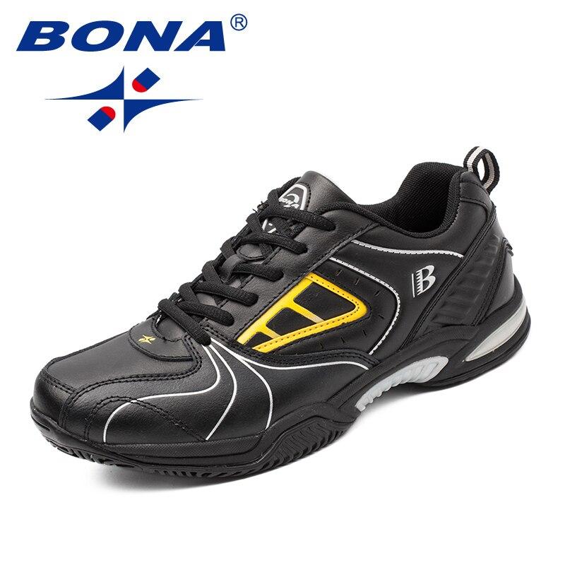 BONA nouveauté classiques Style hommes chaussures de Tennis à lacets hommes chaussures d'athlétisme en plein air chaussures de Jogging confortable livraison gratuite - 3