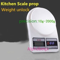 NEW Live secret room escape game electronic scale props Kitchen Scale prop Weighing organ Weight unlock gravity Takagism game