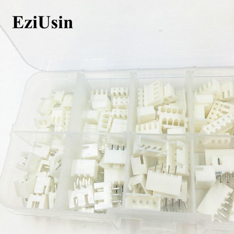 230 шт./40 комплектов XH2.54 разъем 2p 3p 4p 5 pin 2,5/2,54 мм TJC3 терминал JST корпус контактный разъем гнездо провода адаптер Y A S