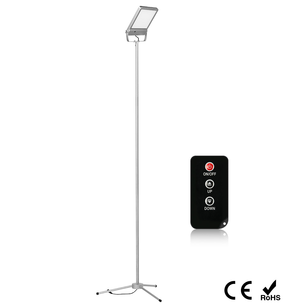 LED Floor Lamp 7.2W 3 Steps Dimming Brightness Touch Switch Modern Standing Light for Living Room Bedroom Office Reading Lamp f9 modern touch led standing floor lamp reading for living room bedroom with remote control 12 levels dimmable 3000 6000k black