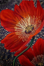 Cross Stitch Full Diamond Rhinestones Painting Home Decor diy 5d diamond painting flowers Pattern  Embroidery Poppies