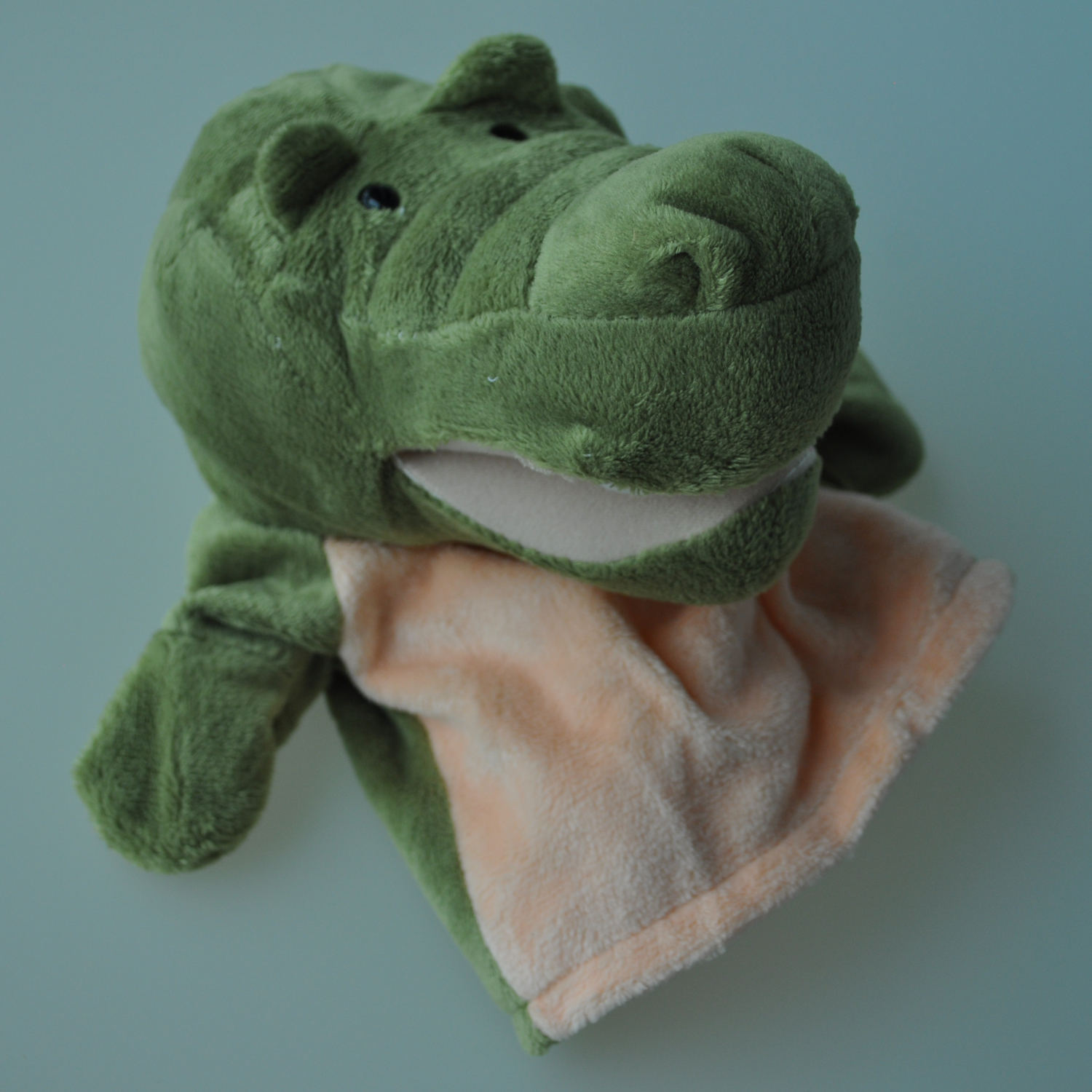Hand Puppets MACH Animals Plush Crocodile Cute Child Kid Learning-Aid-Toy Velour Chic