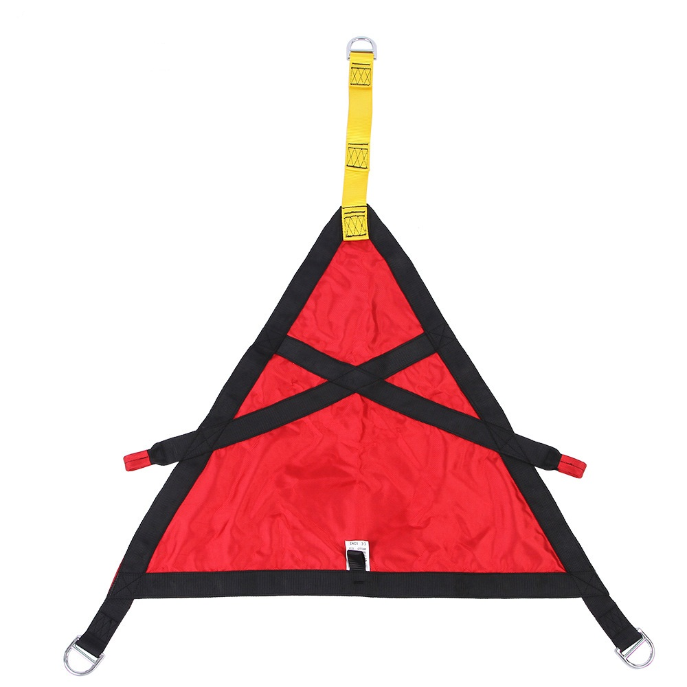 Professional Outdoor Harnesses High Altitude Fire Protection Rescue Triangle Safety Belt Kids Harnesses Lift Hip Belt