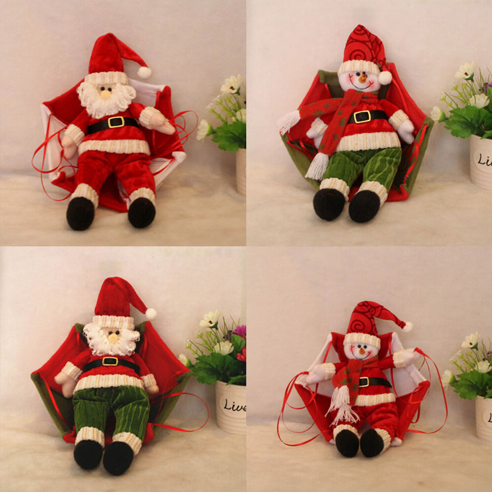 Features Lovely Christmas Parachute Santa Claus Decoration Pendant