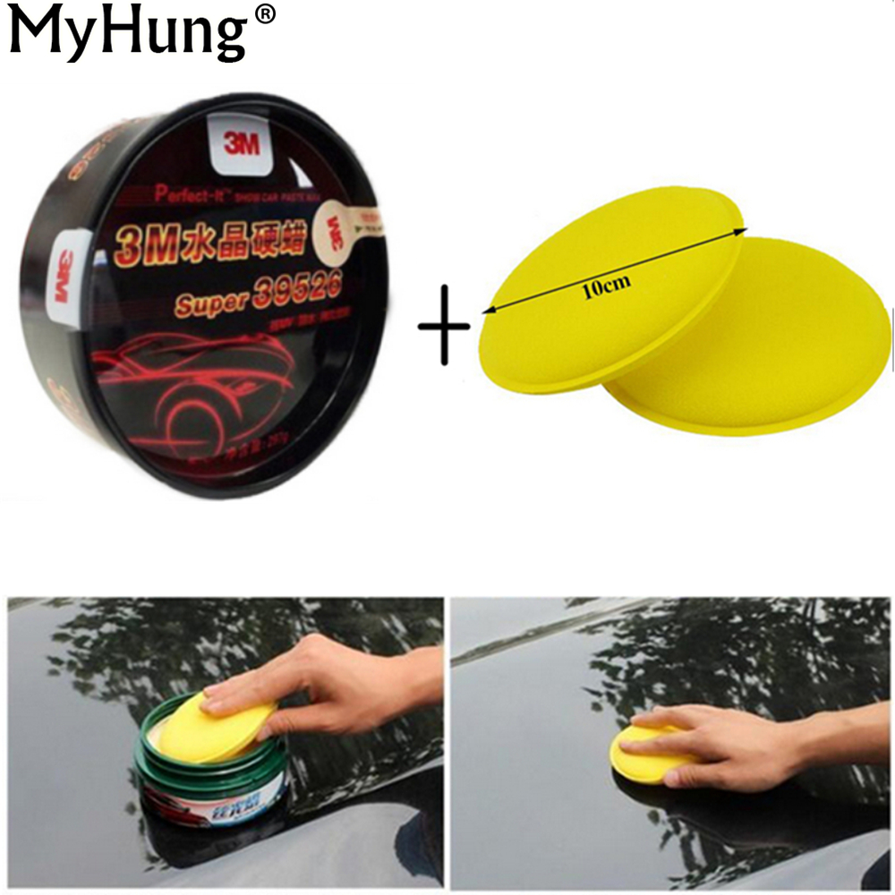 Myhung Carnauba Wax Clear Coat Scratch Repair Car Wax Paint Care Polish Scratch Remover Dent Repair Nano Coating Car Wash