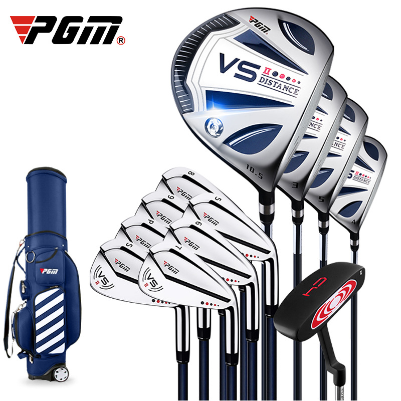 PGM Golf Sports Complete Sets Club Men's Beginner's Full Golf Set Rod Titanium Number 1 Rod VS Second Generation Right Handded