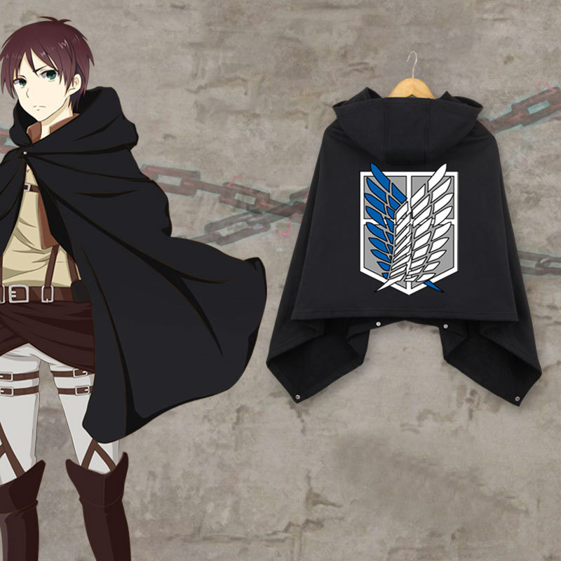 Attack On Titan Cosplay Scouting Legion Wool Cloak Costume High Quality Anime