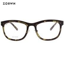 ZOBWN glasses mix every color samples eyeglasses frame Lunettes Oculos feminino eye glasses Oculos de grau masculinos masculinos every color