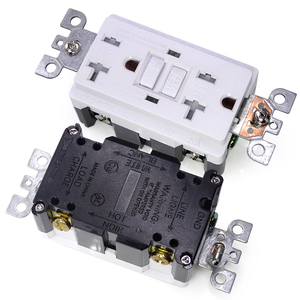 Image 5 - GFCi USA US standard Power Socket,Universal Plug Socket Port Power Adapter Outlets,Tamper Resistant Duplex Receptacle,Auto Test