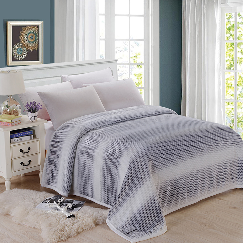 New Fashion Blanket On The Bed Queen King Size 100% Cotton Sofa Throw Blanket for Adult Super Soft