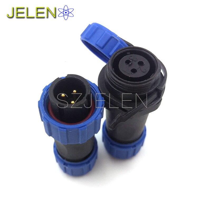 Aliexpress Com   Buy Sp13  Waterproof 3 Pin Connector Plug