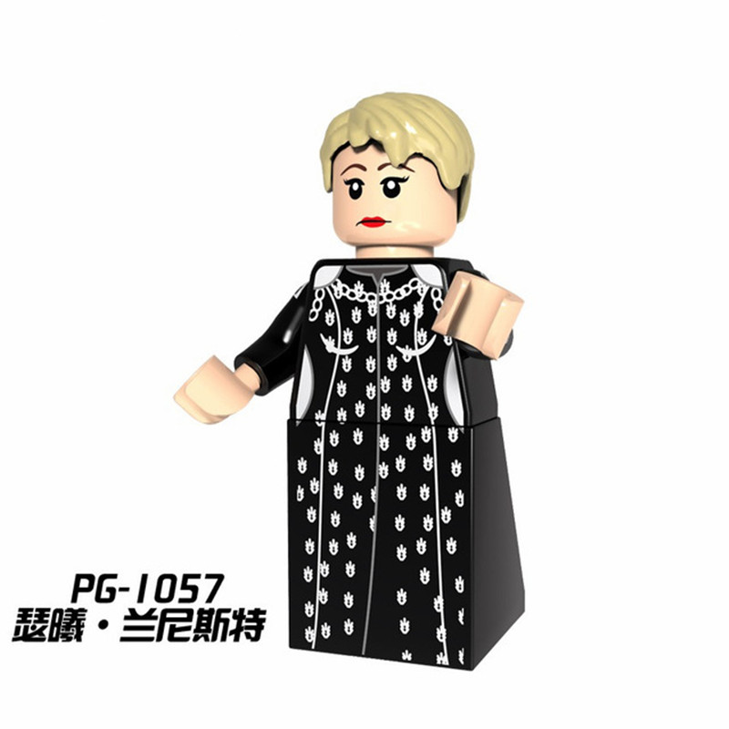 PG1057 Cersei Lannister Single Sale Legoing Figures Game of Thrones Ice and Fire Building Blocks Toys For Children education kid