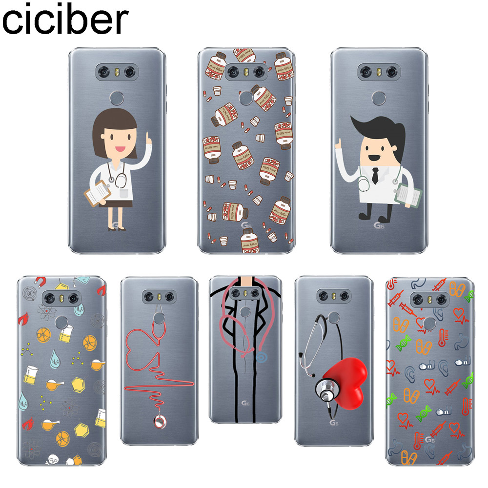 Cover Commodities Are Available Without Restriction Fitted Cases Ciciber Doctor Love Phone Case For Lg G6 G7 G5 G4 V30 V35 V40 V20 Thinq Soft Tpu For Lg K10 K8 K7 K4 2017 2018 K9 K11
