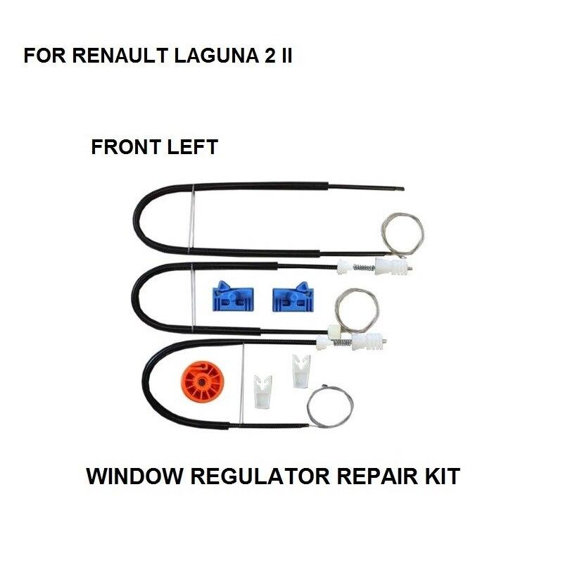 2001-2007 WINDOW REGULATOR REPAIR KIT ROLLER FOR RENAULT LAGUNA II 2 WINDOW REGULATOR REPAIR KIT FORNT-LEFT