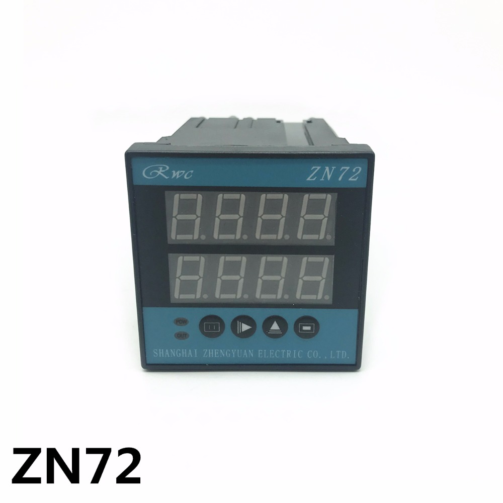 HB72 ZN72 electronic meter counter meter length measurement sensor designed with reversible counter accumulator High quality intelligent counter meter length meter meter lap length tester and reversible h7jc2 6e2r