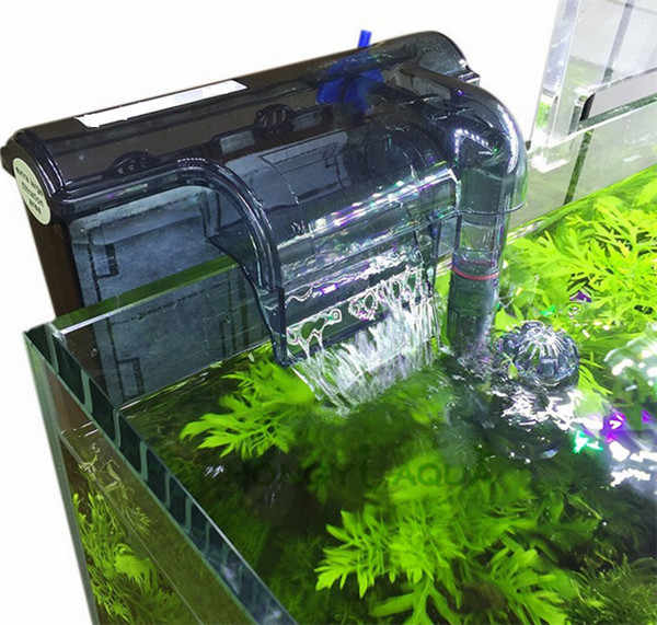 Aquarium Submersibl 3-in-1 Externe Opknoping Aquarium Power Filter HI-330 Waterval Externe Aquarium Air pomp Skimmer