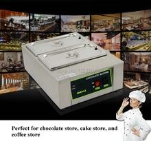 Najwyższej jakości Stali Nierdzewnej Handlowa maszyna temperowania czekolady czekolada cieplej topiące urządzeń do przetwarzania maszyn