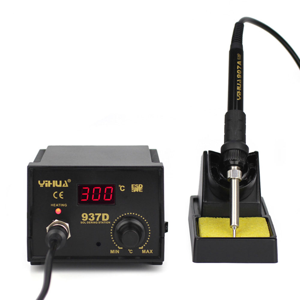 High quality 110V/220V 45W YIHUA 937D Eruntop Constant Temperature Antistatic Soldering Station Solder Iron yihua 862d 750w constant temperature antistatic soldering station solder iron heat air gun