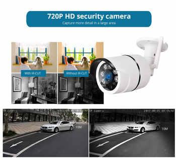 Golden Security Outdoor Waterproof IP Camera WiFi Wireless Surveillance Camera Built-in 16G Memory Card CCTV Camera Night Vision