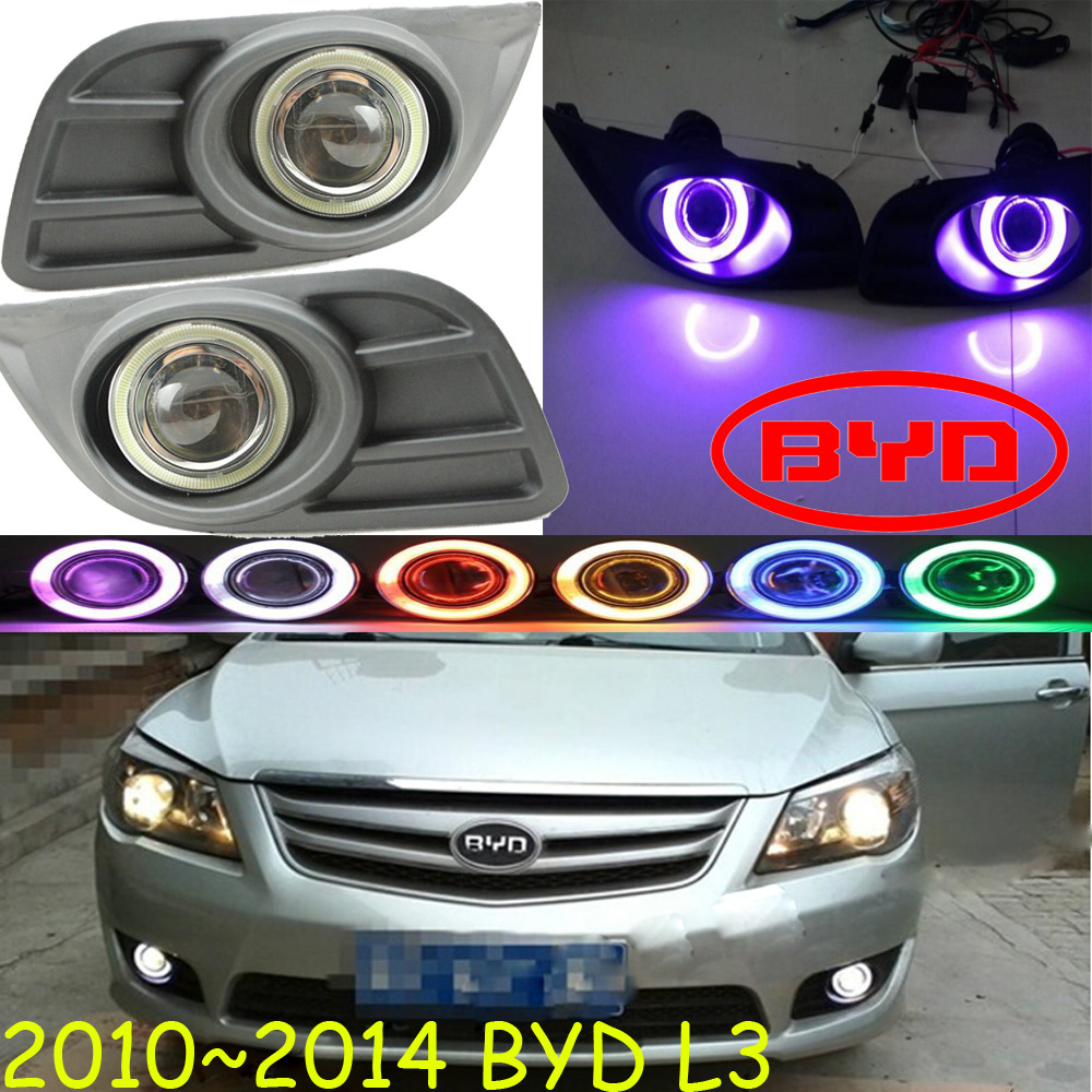 2010~2014 BYD L3 fog light,Free ship!BYD L3 headlight,F0 F3 S5 S6 S7 L 3;BYD L3 day lamp чехлы для автокресел boutique s6 s7 f0 f3 g3 g5 l3