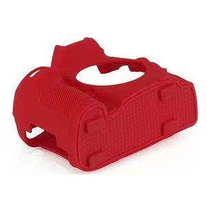 Image 5 - Top Texture Design Rubber Silicon Case Body Cover Protector Soft Frame Skin for Nikon D800 D800E Camera