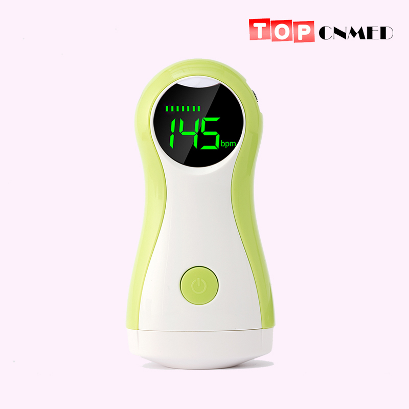 2.5 MHz Fetal Doppler Baby Monitor LCD Display Portable Baby Heart Rate Monitor With Earphone(China)