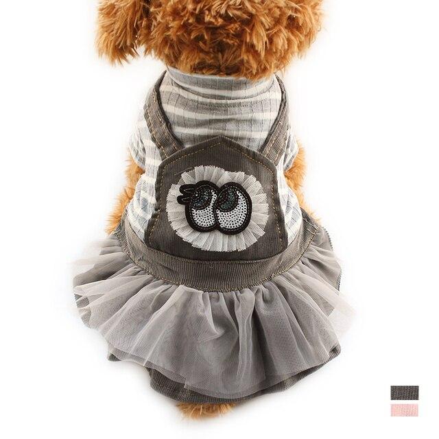 71ac6ed7a72fd0 Armi winkel Lente Zomer Hond Jurken Streep Jurk Voor Honden 6072072 Kleding  Dierbenodigdheden XS Sml XL