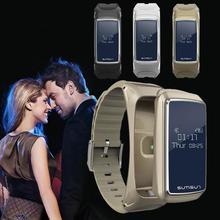 Smart Band Bluetooth3.0 SmartWatch музыкальный телефон Коврики для IOS Android-смартфон услышать скорость Мониторы сна трекер шаг трекер группа