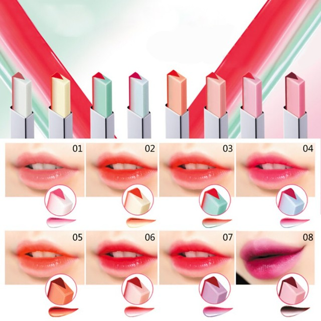 Fashion Korean Lipstick Bite Gradient Silky Long Lasting Moisturzing Nourishing Lipstick Lip Balm Lips Makeup Cosmetic maquiagem 3