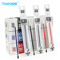 TIANSE 20 Pieces Neutral Ink Gel Pen 0 5mm Writing Pen Black Blue Red Color Marker