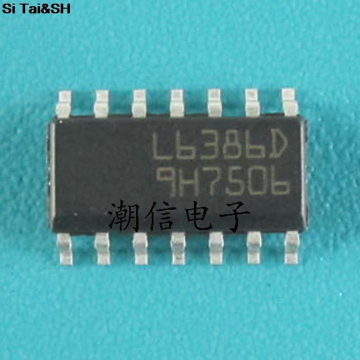 1pcs/lot L6386ED013TR L6386ED L6386 SOP14