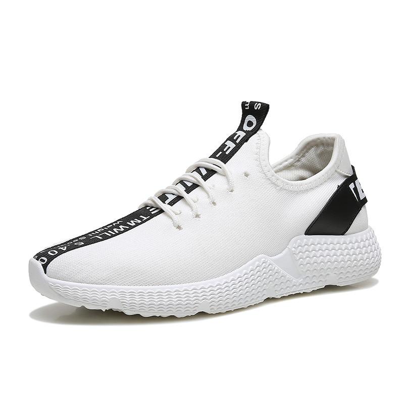 Sauvage 2018 Casual rouge Hommes Respirant blanc Noir Maille Conseil Mode De D'été Chaussures wrrf0nO6x