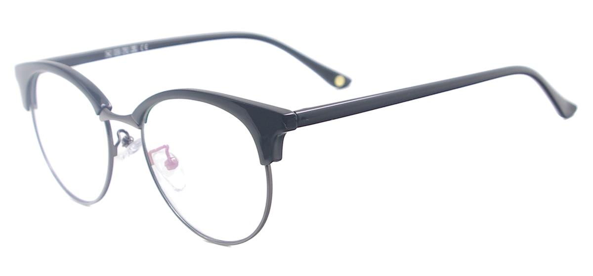 Frauen Acetat Vollrand Brillen Vintage Runde Brillen Rahmen Männer ...