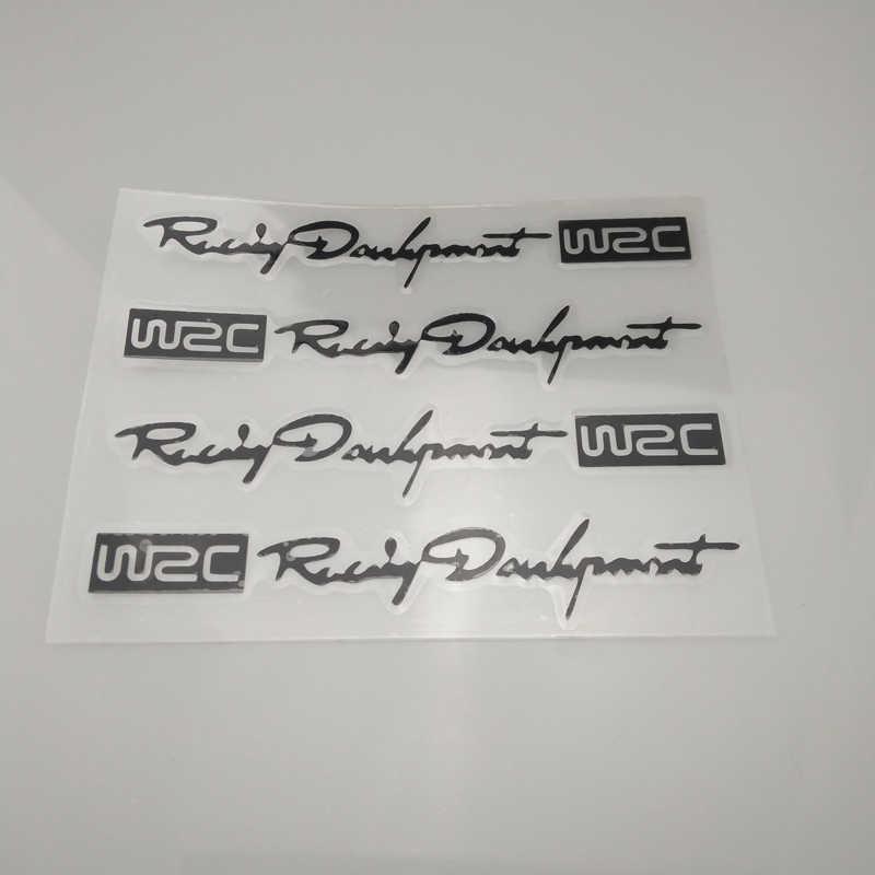 4 × شكل سيارة WRC مقبض الباب ملصق لكيا ريو K2 K3 K5 K4 سيراتو ، سول ، فورت ، سبورتاج R ، سورينتو ، موهاف ، أوبتيما اكسسوارات السيارات