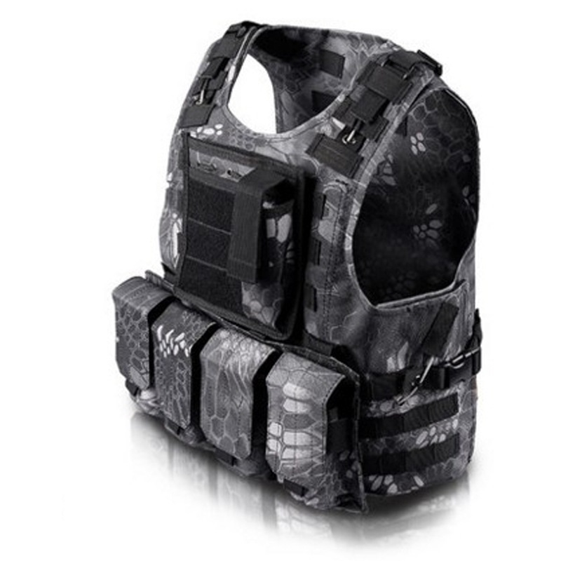 51783 Military Tactical Gear Molle Vest Multicam Airsoft Plate Carrier Kryptek Fast To Wear Off CIRAS Combat Vest Colete Tatico