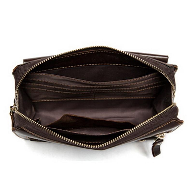 WESTAL äkta läder mäns plånböcker för kreditkort plånbok - Plånböcker - Foto 5