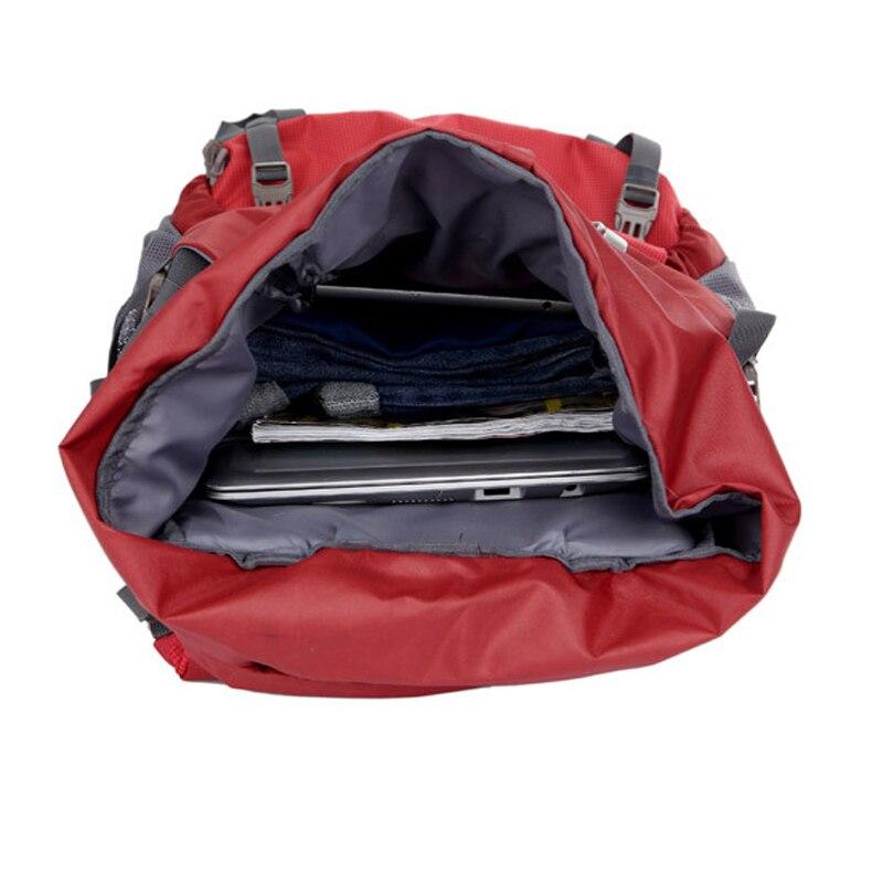 80L grande capacité alpinisme chasse voyage escalade Nylon étanche sac à dos Molle sacs à dos avec sac à cadre interne BD39 - 5