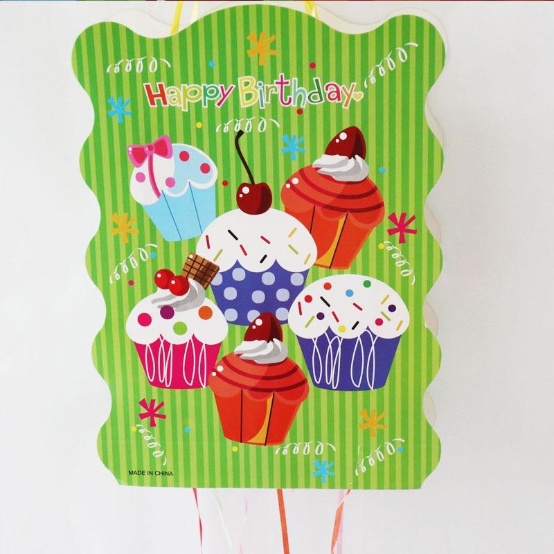 Pleasant 1Set Lot Cake Folding Pinata Baby Shower Party Game Decoration Funny Birthday Cards Online Elaedamsfinfo
