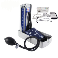 Pediatric Mercury Sphygmomanometer Pro Medical Equipment Home Health Blood Pressure Monitor Stethoscope Hematomanometer