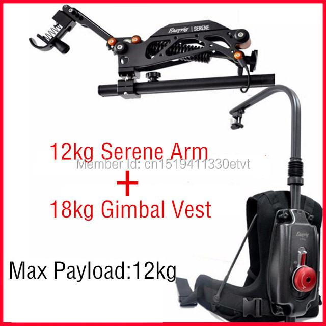 EASYRIG 8-18 kg vidéo et film Serein caméra facile rig pour dslr DJI Ronin M 3 AXES cardan stabilisateur avec flowcine serein