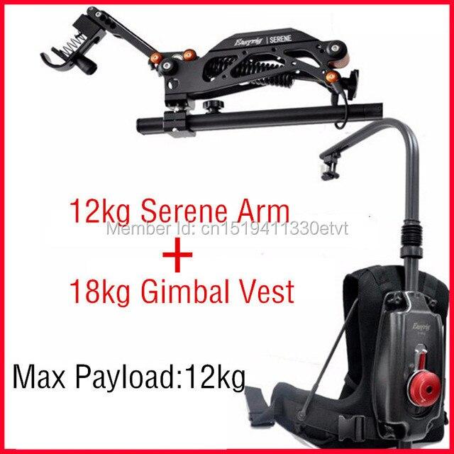 EASYRIG 8-18 kg video und film Ruhige kamera einfach rig für dslr DJI Ronin M 3 ACHSEN gimbal stabilizer mit flowcine ruhige