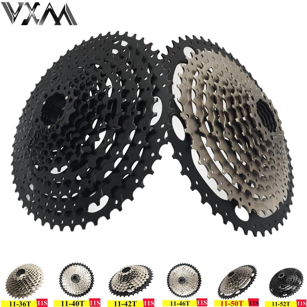 VXM vélo roue libre vtt roue libre Type de carte volant 11 vitesses 11-36 T/40 T/42 T/46 T/50 T/52 T vtt Cassette roue libre pièces de vélo